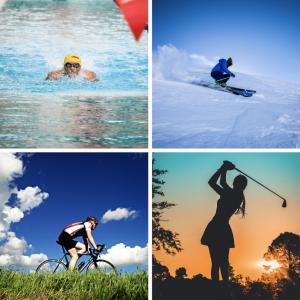 sport con protesi spalla nuoto sci ciclismo golf