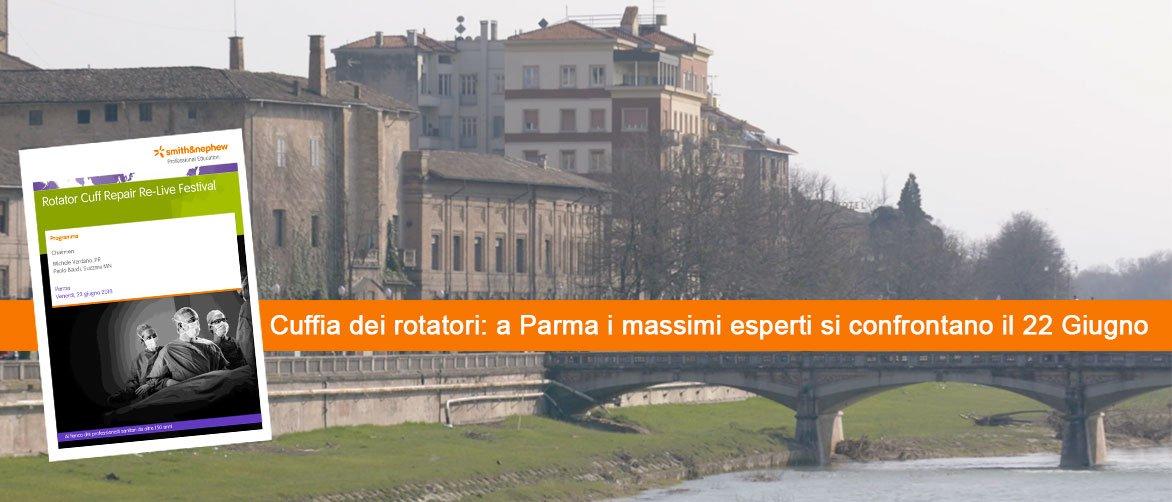 Cuffia dei rotatori: a Parma i massimi esperti si confrontano il 22 Giugno
