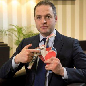 dottor Michele Verdano specialista in Ortopedia e Traumatologia della spalla